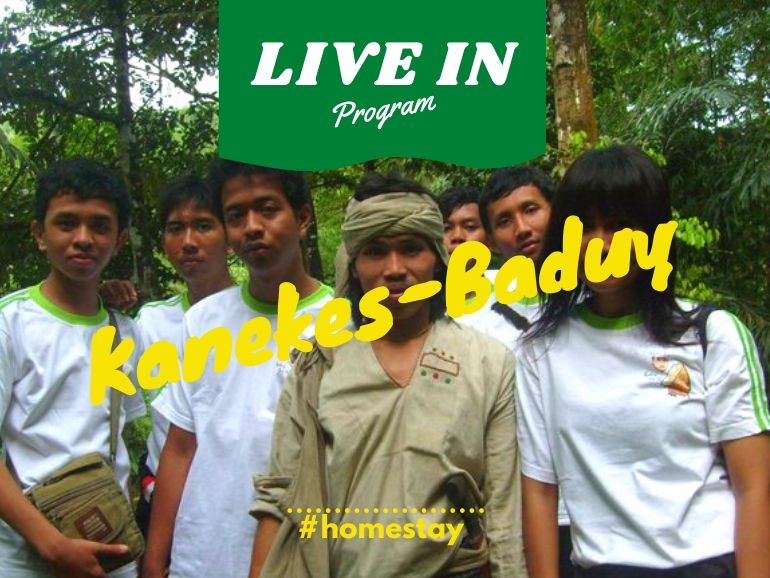 paket live in baduy