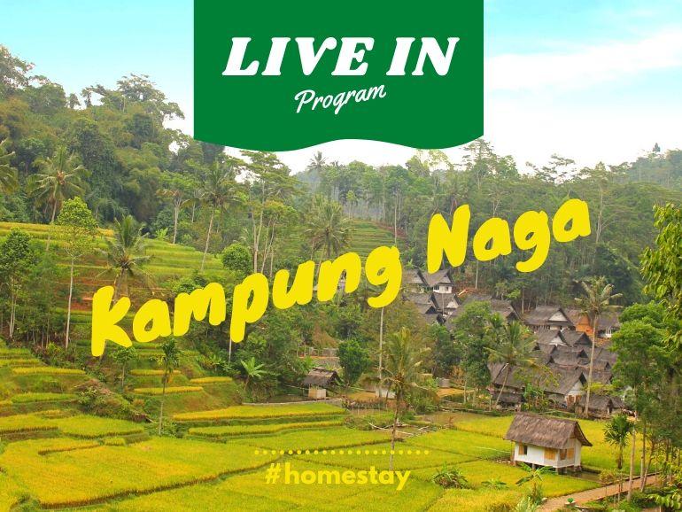 paket live in kampung naga